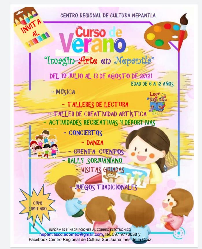 CURSO VERANO CENTRO CULTURAL 2021